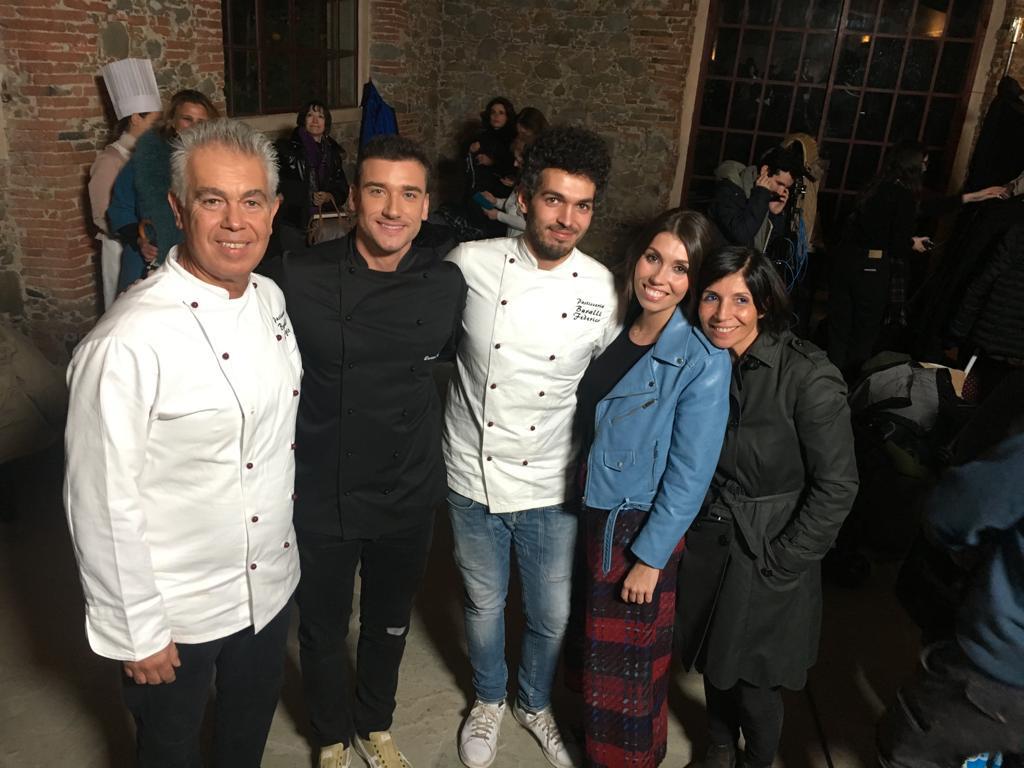 Famiglia Buralli, con Damiano Carrara in occasione di cake star